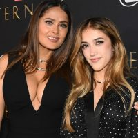 Salma Hayek Attends 'Eternals' Premiere With Daughter Valentina: 'Here We Are'